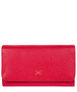 'Dina' Cherry Tri-Fold Leather Purse image 1