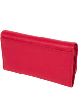 'Dina' Cherry Tri-Fold Leather Purse image 4