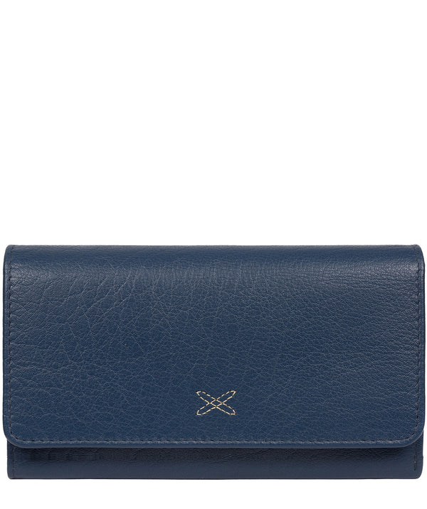 'Dina' Denim Leather RFID Purse image 1