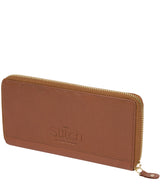 'Netty' Dark Tan Leather RFID Purse image 4