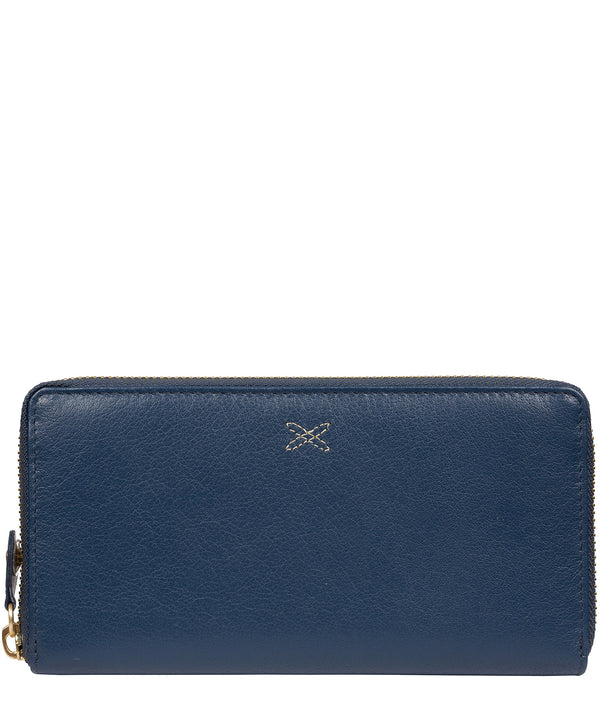 'Netty' Denim Leather RFID Purse image 1