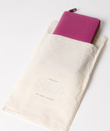 'Netty' Plum Leather RFID Purse image 5