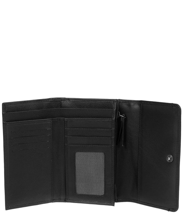 'Millbeck' Black Leather Purse