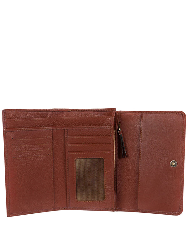 'Millbeck' Cognac Handmade Leather RFID Purse