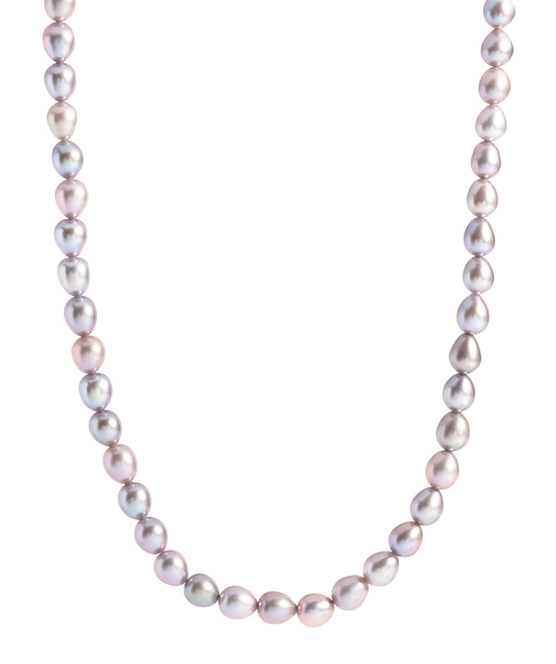 "'Terre' Grey Cultured Freshwater Pearl 18"" Necklace image 1"