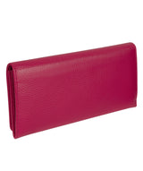 'Lana' Pink Handmade Leather RFID Purse image 7