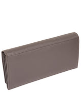 'Lana' Taupe Grey Leather RFID Purse image 7