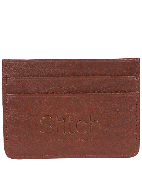 'Daltrey' Brown Leather Card Holder image 3