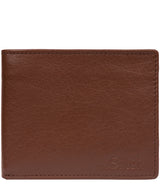 'Rossini' Brown Leather RFID Wallet image 1