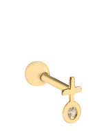 'Juno' 9ct Yellow Gold Cartilage Venus Earring image 1