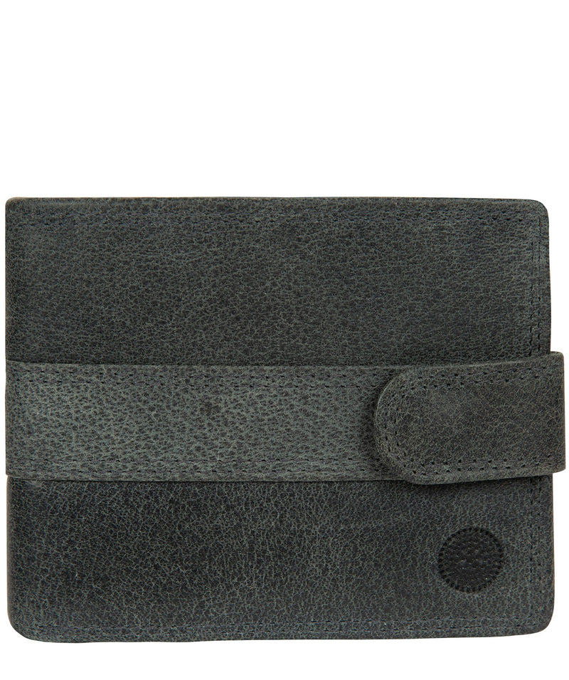 'Jude' Navy Leather Wallet image 1