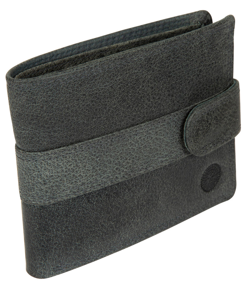 'Jude' Navy Leather Wallet image 3
