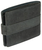 'Jude' Navy Leather Wallet image 6