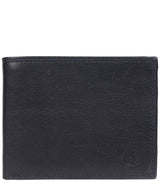 'Jared' Navy Leather Wallet image 1