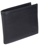 'Jared' Navy Leather Wallet image 3