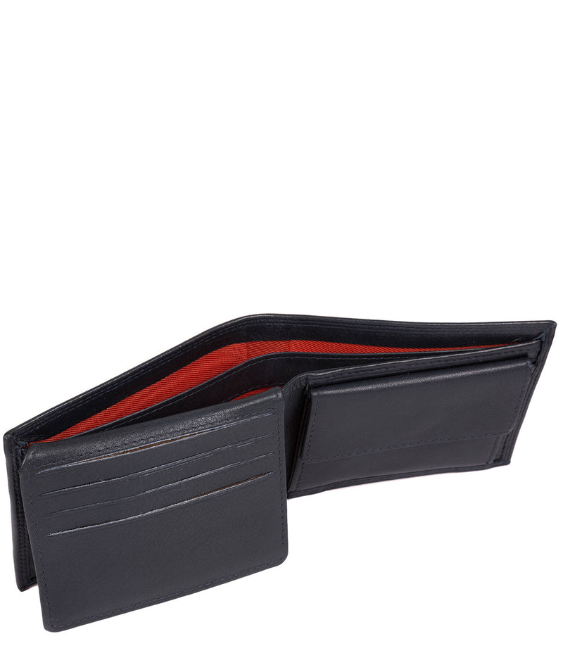 'Jared' Navy Leather Wallet image 4
