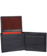 'Jared' Navy Leather Wallet
