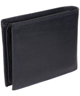 'Jared' Navy Leather Wallet image 6