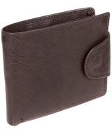 'Garrat' Anthracite Brown Handcrafted Leather Wallet image 3