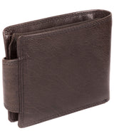 'Garrat' Anthracite Brown Handcrafted Leather Wallet image 5