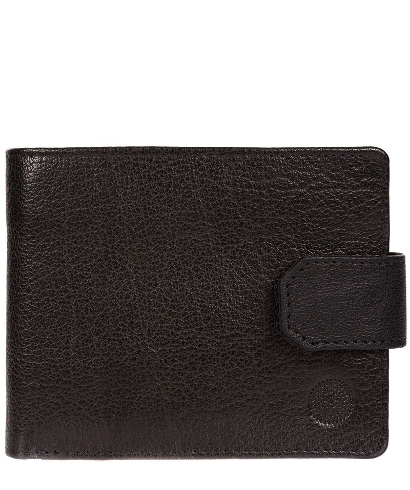 'Beckett' Black Fine Leather Wallet image 1