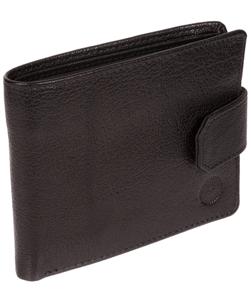 'Beckett' Black Fine Leather Wallet image 3