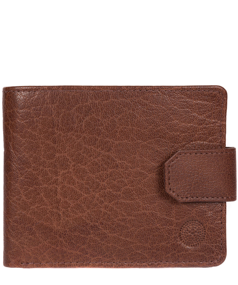 'Beckett' Tan Fine Leather Wallet image 1