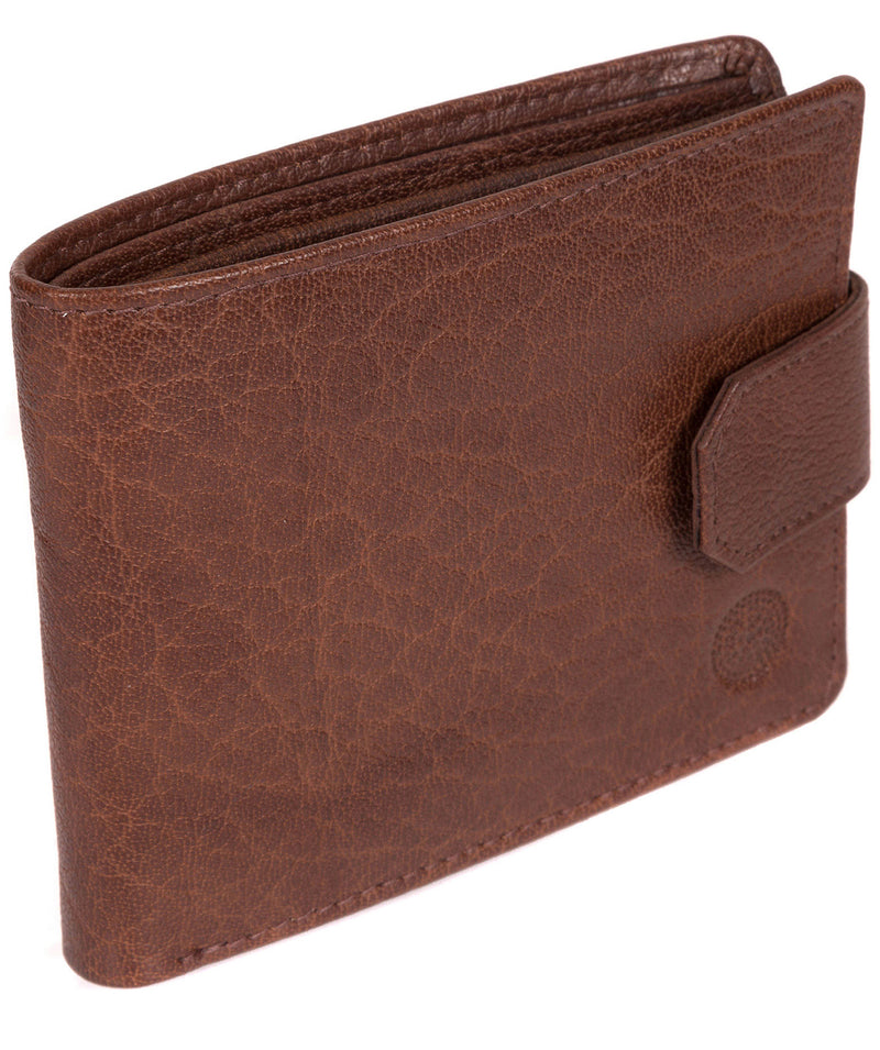 'Beckett' Tan Fine Leather Wallet image 3