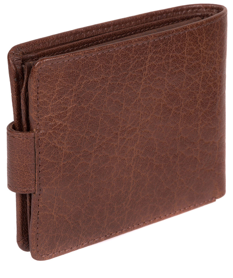 'Beckett' Tan Fine Leather Wallet image 6