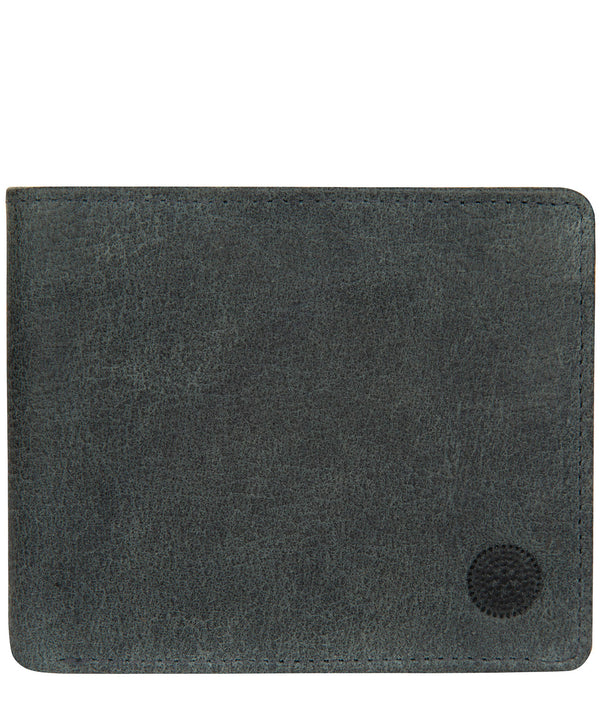 'Anders' Navy Leather Wallet image 1