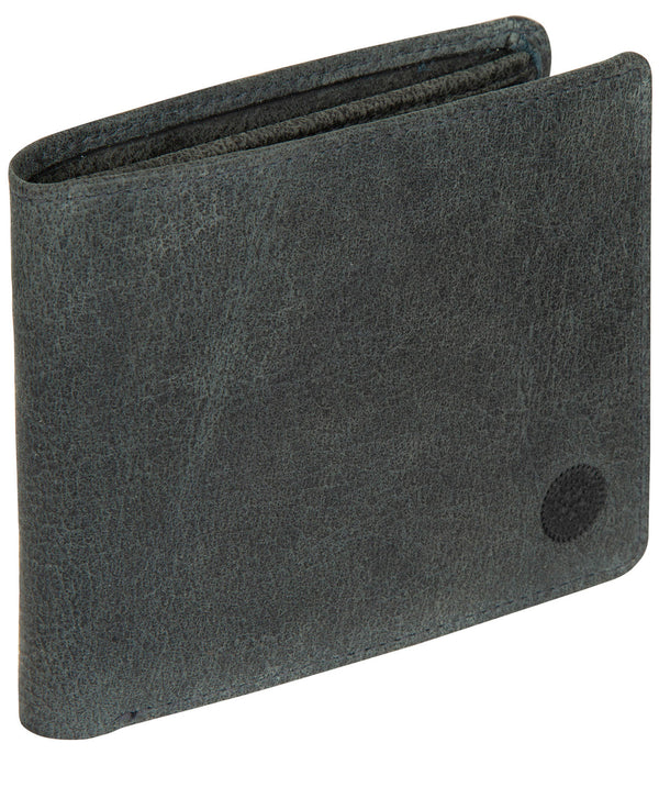 'Anders' Navy Leather Wallet image 3