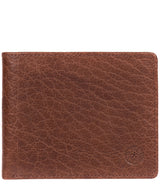'Anders' Tan Handcrafted Leather Wallet image 1