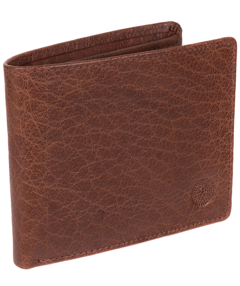 'Anders' Tan Handcrafted Leather Wallet image 3