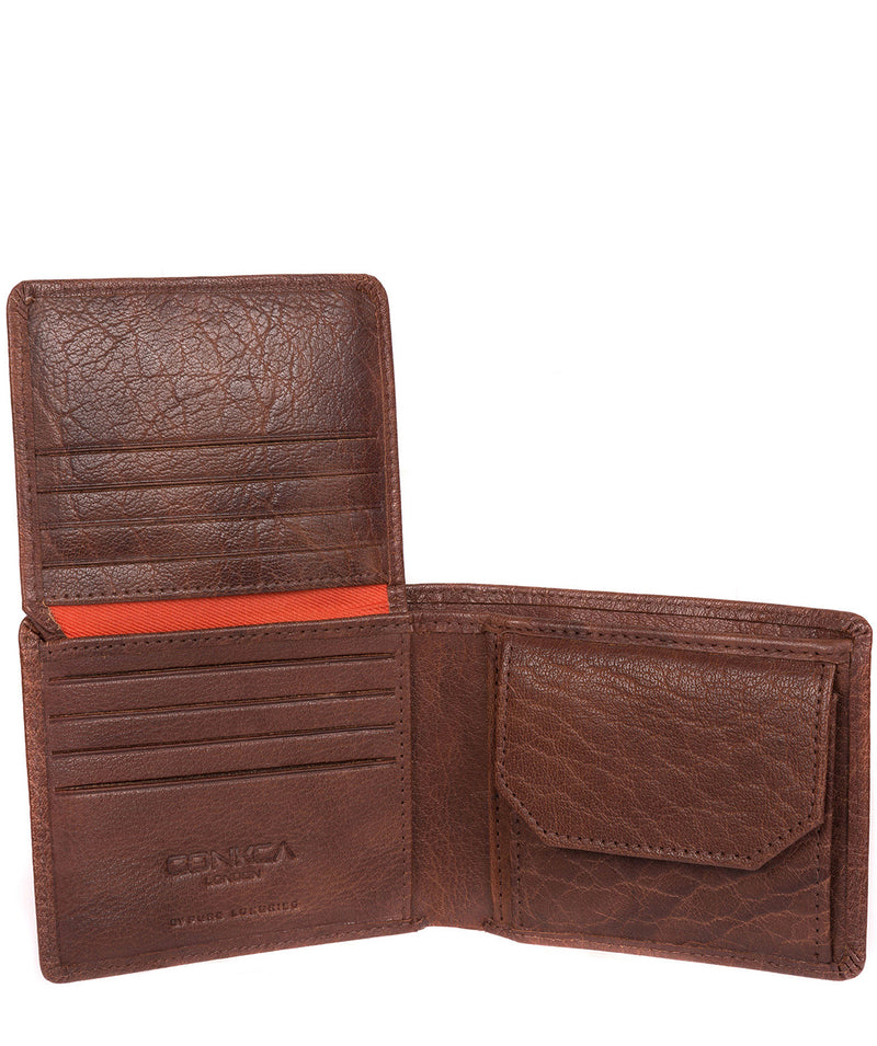 'Anders' Tan Handcrafted Leather Wallet image 5