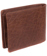 'Anders' Tan Handcrafted Leather Wallet image 6