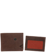 'Max' Dark Brown Bi-Fold Leather Wallet image 3