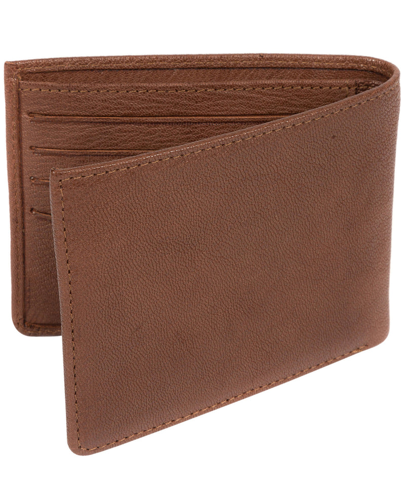 'Alston' Conker Brown Bi-Fold Leather Wallet image 4
