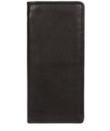 'Osbourne' Black Leather Breast Pocket Wallet image 1