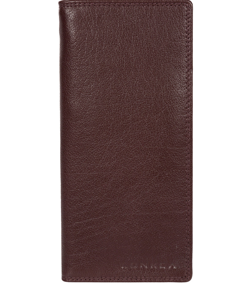 'Osbourne' Oxblood Leather Breast Pocket Wallet image 1