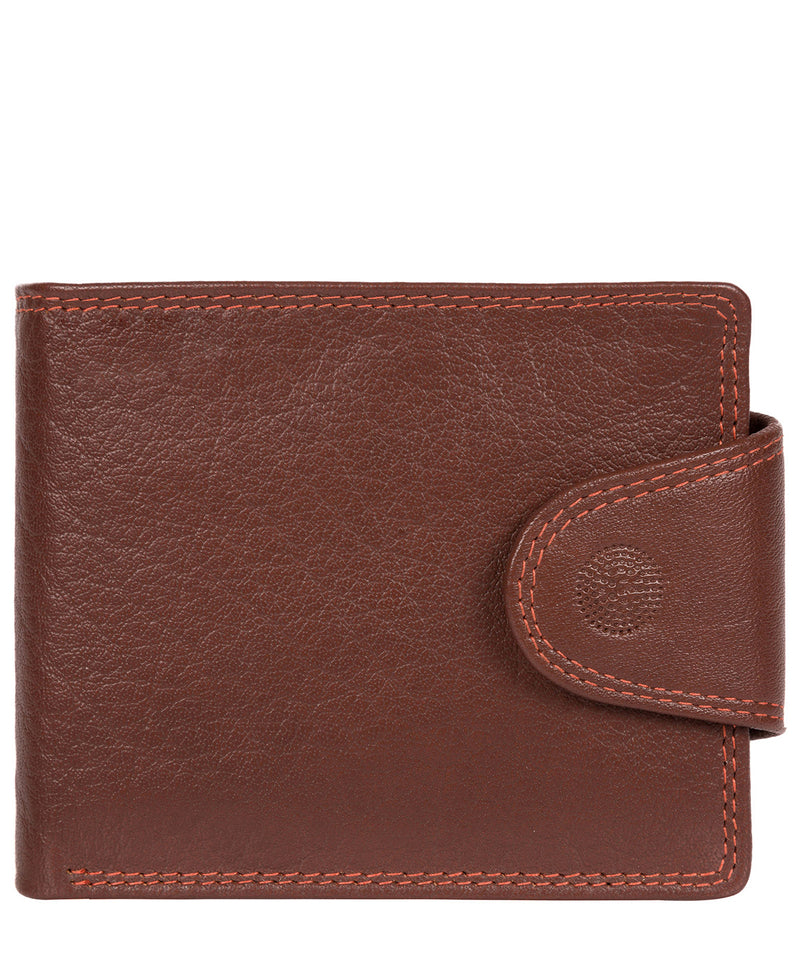 'Dunbar' Conker Brown Leather Wallet image 1