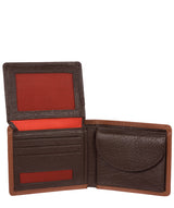 'Miller' Chestnut Dark Brown Bi-Fold Leather Wallet image 3