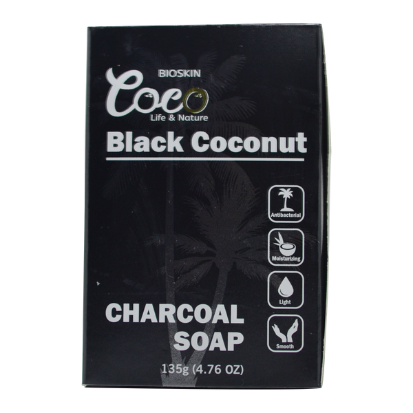 Black Coconut Charcoal Soap 135g