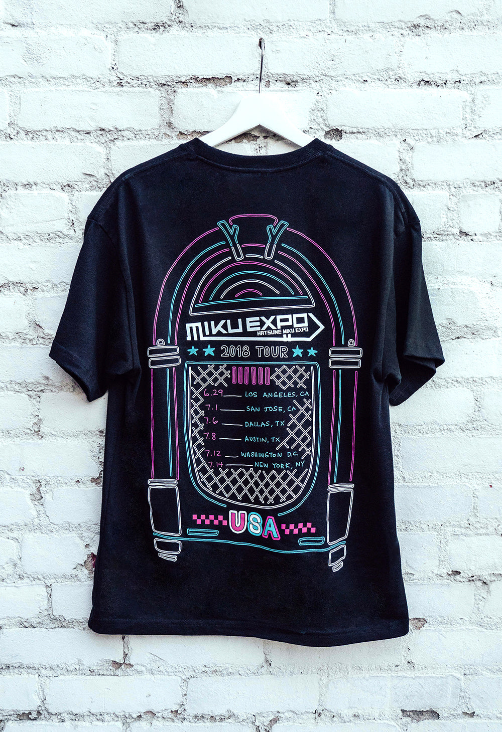 MIKU EXPO U.S.A. TOUR T-Shirt