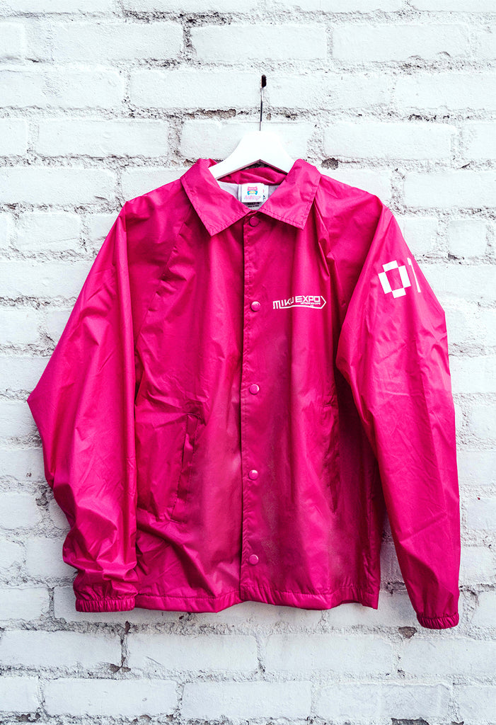 MIKU EXPO U.S.A. TOUR Pink Windbreaker