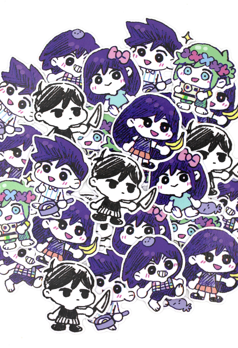 OMORI CHIBI Sticker Set
