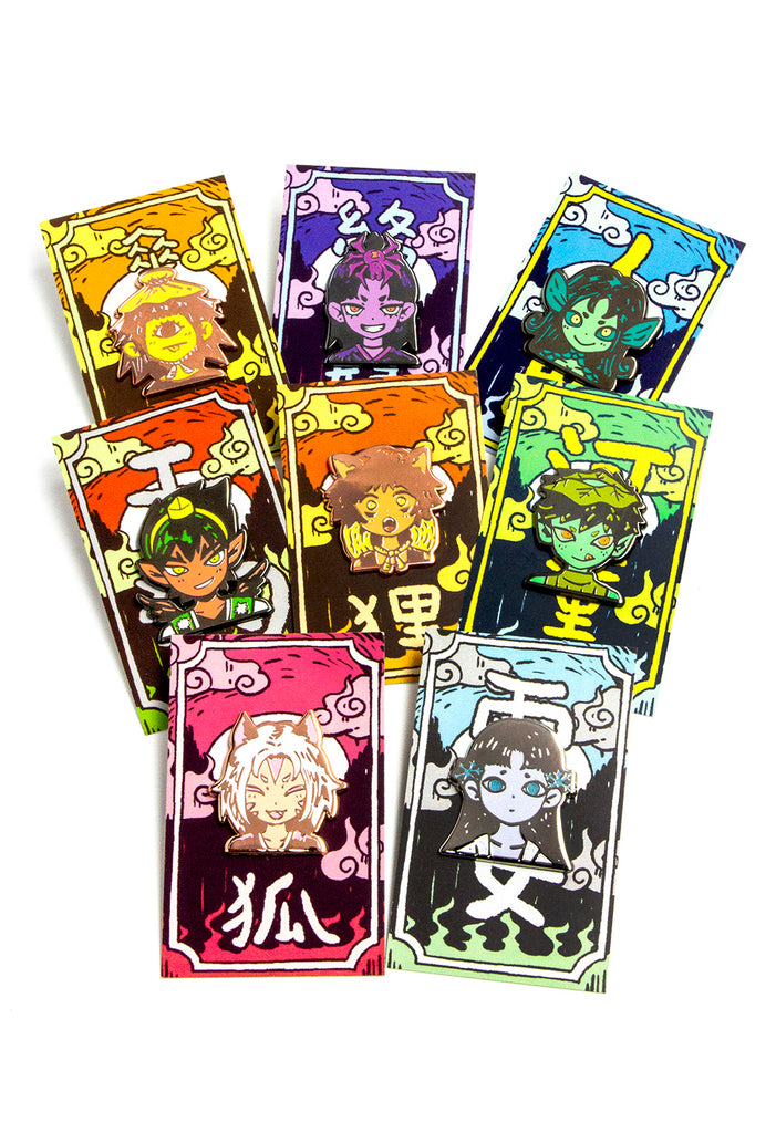 YOKAI Mystery Pin Bag