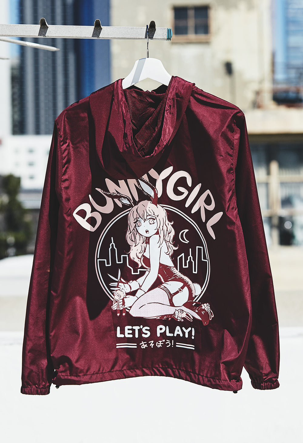BUNNYGIRL Windbreaker Jacket