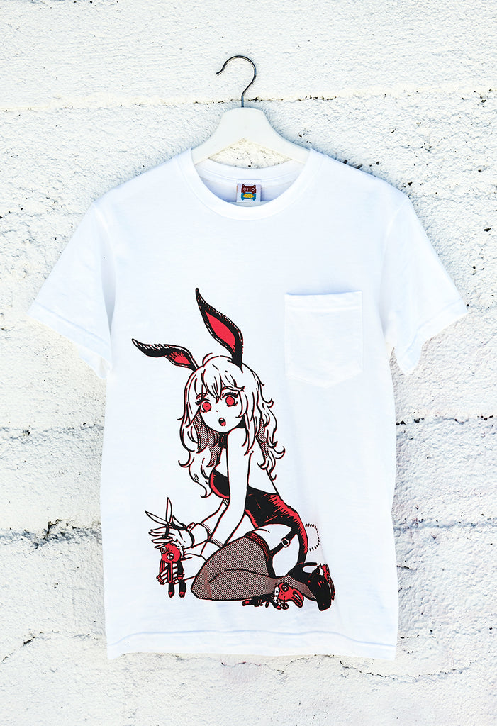BUNNYGIRL Pocket T-Shirt