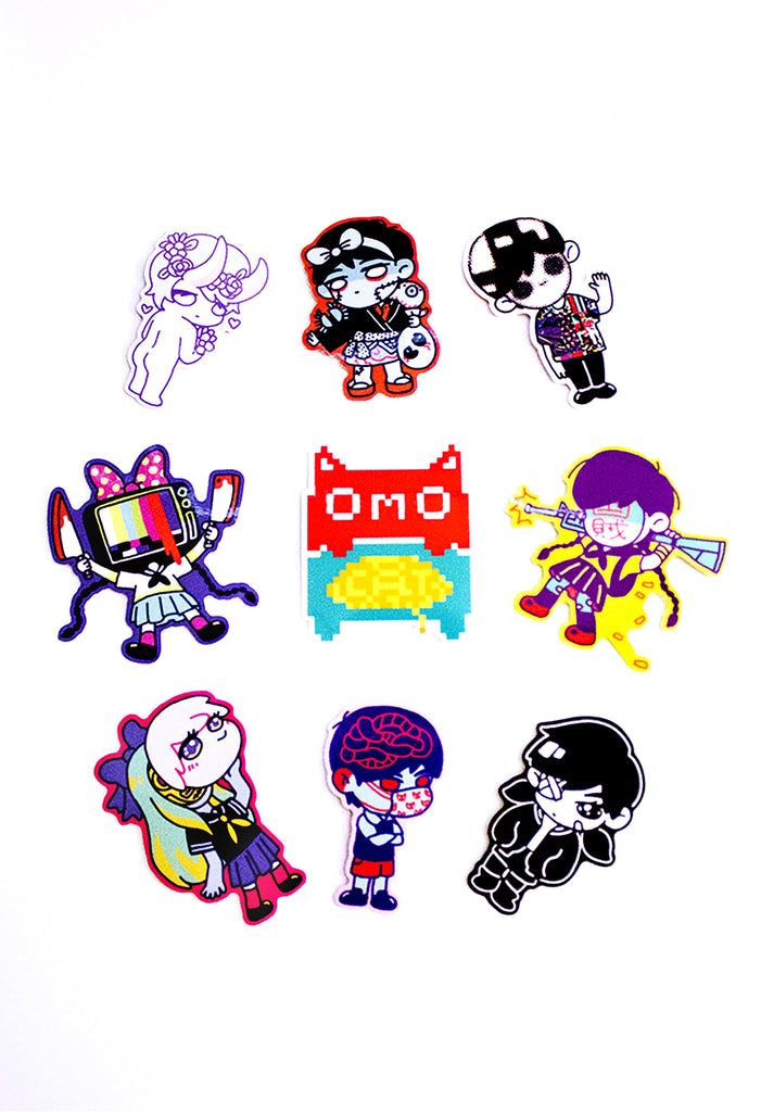 OMOCAT Sticker Set
