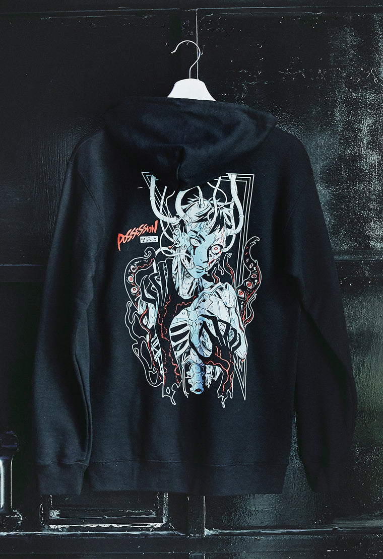 POSSESSION Zip-Hoodie